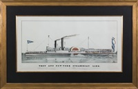 troy and new york steamboat line,