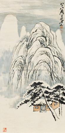 山水 by qi baishi