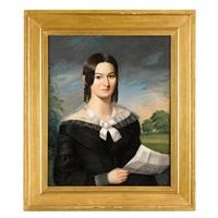 portrait of miss mary t. allen, philadelphia, pa by american school (19)