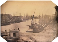 vue du port de sète by charles choiselat and stanislas ratel