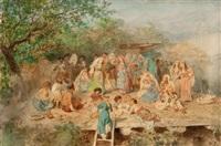 a cherkess feast by ivan ivanovich sokolov