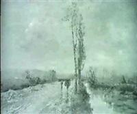 flusslandschaft unter bewolktem himmel by edoardo cortese