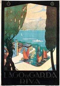 lago di garda riva by antonio simeoni
