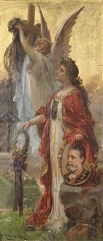 apotheose auf dr. karl lueger (wien 1844-1910) by hans zatzka