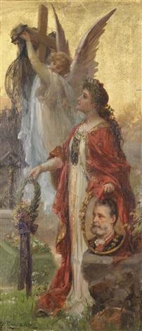 apotheose auf dr karl lueger wien 1844 1910 by hans zatzka