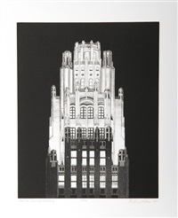 american radiator building by richard haas