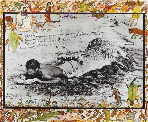ill write whenever i can koobi fora lake rudolf by peter beard