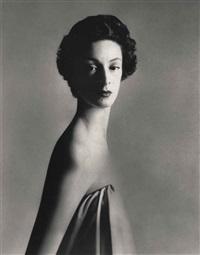 marella agnelli, new york, december 1953 by richard avedon