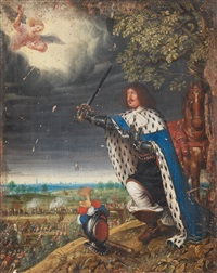 fredrik iii at the battle of nyborg by wolfgang heimbach