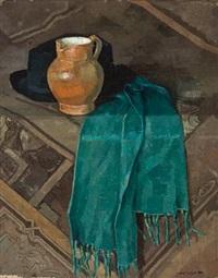 oppstilling med hatt og skjerf by axel haugen