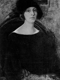 portrait of a woman by florence julia bach
