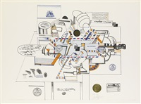 via air mail by saul steinberg