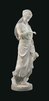 figure of rebecca by orazio andreoni