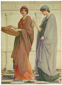 two girls by henry ryland