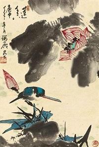 莲香图 by cui ruilu