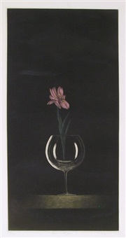 flowers in the glass by tomoe yokoi