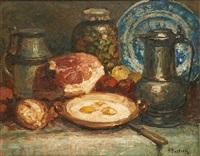 les œufs sur le plat by alfred théodore joseph bastien