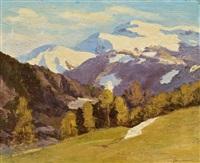 berglandschaft by max angerer