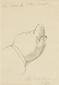 la mano de pablo neruda by josé luis caballero