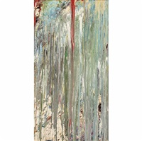 untitled #13 by larry poons