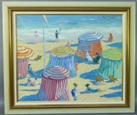 la plage by martin lindenau