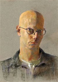 self-portrait by amnon david ar