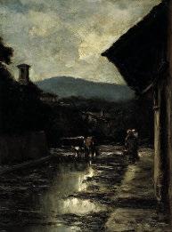 l'abbeverata by arnaldo tozzini
