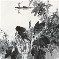 捕渔 by ji congnan