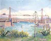 le port transbordeur by bernard langrune