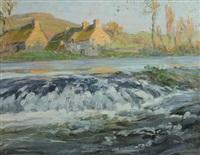 chutes d'eau, inondations de 1910 by alexandre jacob