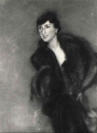 porträt der prager opernsängerin ota horakova by rudolf vacha