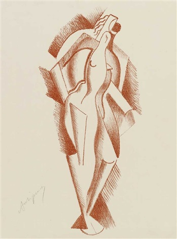 woman pl1 from die schaffenden by alexander archipenko