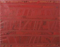 espace rouge by françois dilasser