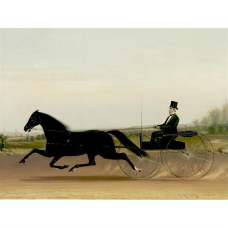 a trotter and sulky by james j mcauliffe