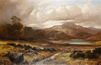 river landscapes (pair) by clarence henry roe