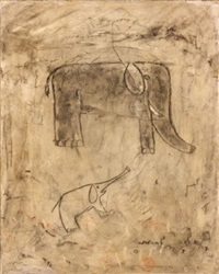 composition aux éléphants by antoni camarasa