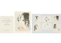 pressentiments (portfolio of 6 works) by marie laurencin