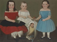 portrait of the sweetser children by william matthew prior
