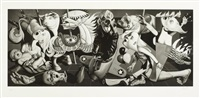 grade school guernica by ron english
