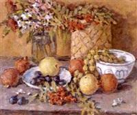 nature morte aux pommes by nikolai maksimovich melnikov