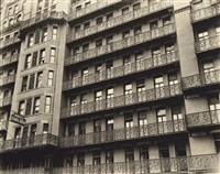 chelsea hotel, west 23rd street between seventh and eighth avenues, manhattan by berenice abbott