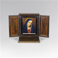 madonna (altar piece) by gottlieb theodor von hartenkampf kempf