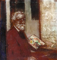 autoportrait by james ensor
