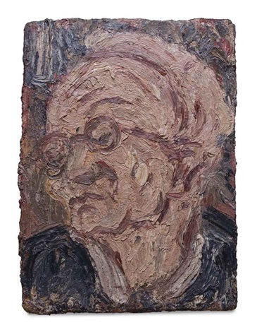 head of chaim by leon kossoff