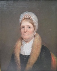 portrait of margaret irvine (mrs. john) miller (1756-1847) by rembrandt peale