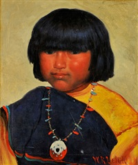 indian child by william robinson leigh
