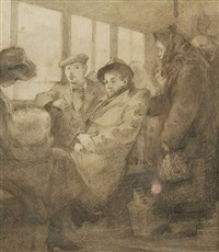 on the train by nuriv alexsandravoick smirnov