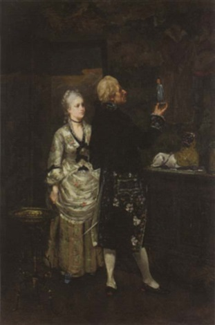 the connoisseur by edmond andre