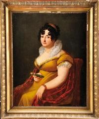 portrait de charlotte bonaparte, comtesse de survilliers by francois henri mulard