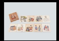 various shikishi (set of 9) by sumio kawakami